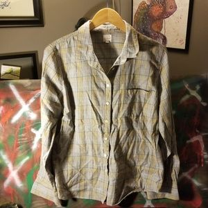 J. Crew womens button shirt